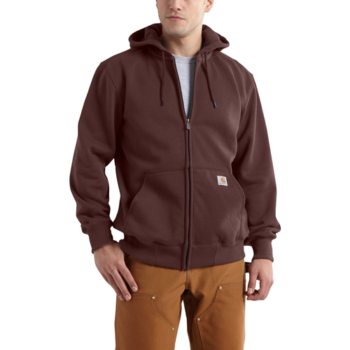 Rain Defender Hooded Zip-Front Sweatshirt
