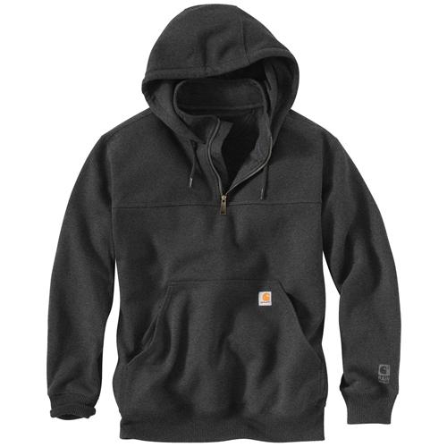 Carhartt Rain Defender Hooded Zip Mock Sweatshirt