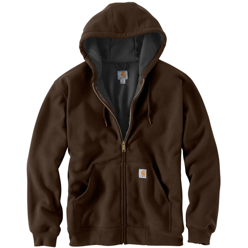 Rutland Thermal Lined Hooded Front Zip Sweatshirt