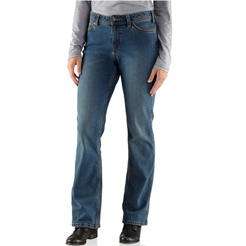 Carhartt Womens Relaxed-Fit Denim Jasper Jeans