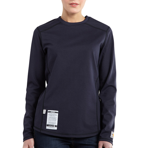 Carhartt Flame-Resistant Cotton Long-Sleeve Womens T-Shirt