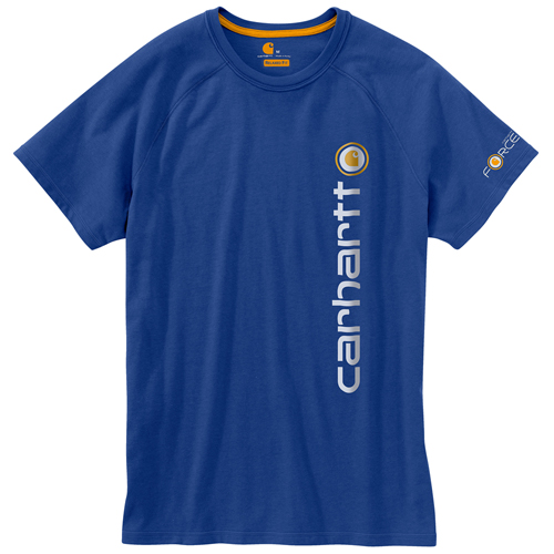 Carhartt Force Cotton Delmont Graphic Short-Sleeve T-Shirt
