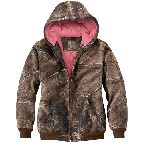 Carhartt Camo Active Womens Jacket