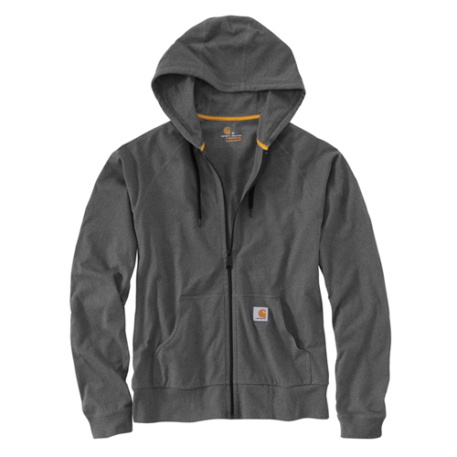 Carhartt Force Cotton Delmont Zip Front Hoodie