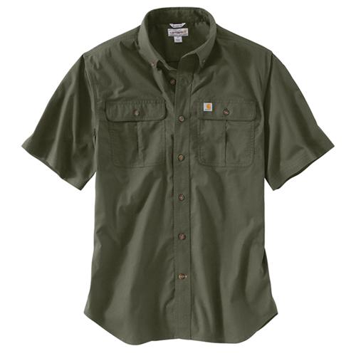 Carhartt Foreman Solid Short-Sleeve Work Shirt