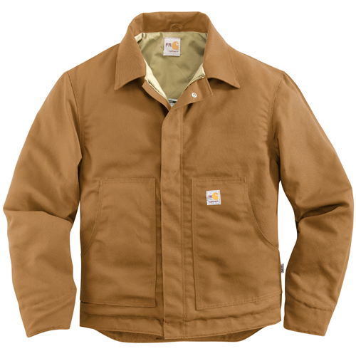 Carhartt Flame-Resistant Canvas Dearborn Quilt-Lined Jacket
