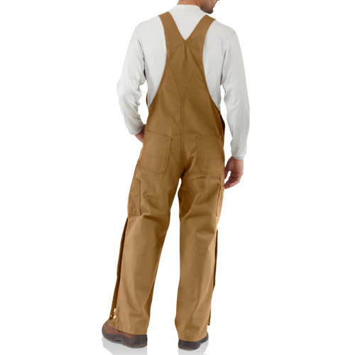 Flame-Resistant Duck Bib Overall Unlined