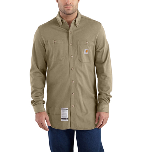 Carhartt Flame-Resistant Force Cotton Hybrid Shirt