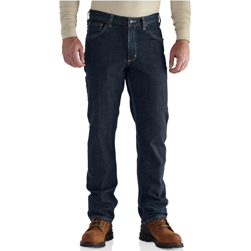Flame-Resistant Rugged Flexible Straight Fit Jeans