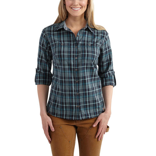 Carhartt Womens Dodson Plaid Shirt