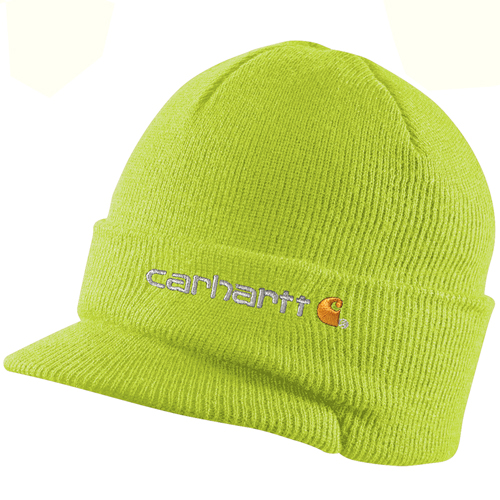 Knit Hat with Visor