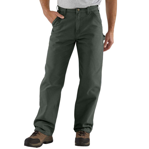 Washed Duck Work Fit Pant
