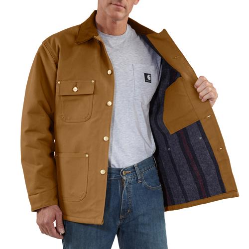 Carhartt Duck Chore-Blanket Lined Coat