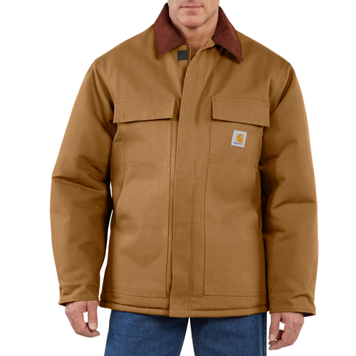 Carhartt Duck Traditional-Arctic Quilt Lined Coat