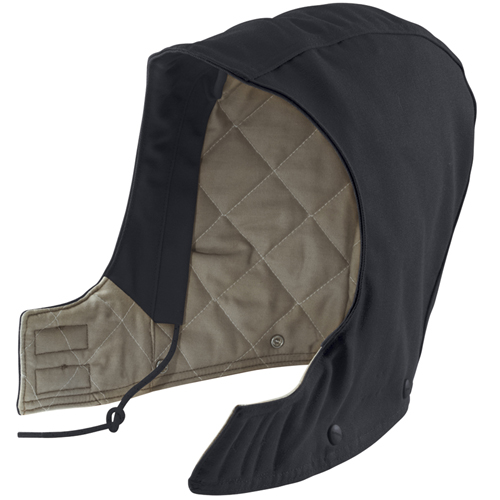 Flame-Resistant Duck-Quilt-Lined Hood