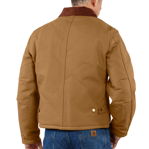 Carhartt Duck Traditional Jacket-Arctic Quilt Lined