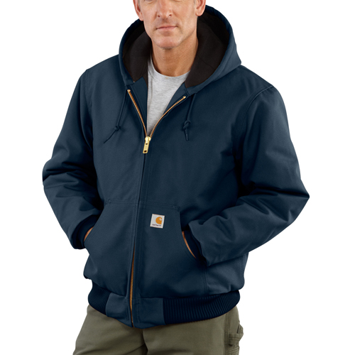 Carhartt Duck Active Jacket-Quilted Flannel Lined
