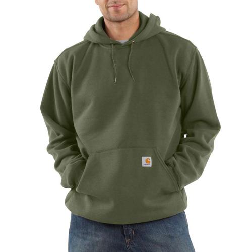 Midweight Hooded Pullover Sweatshirt