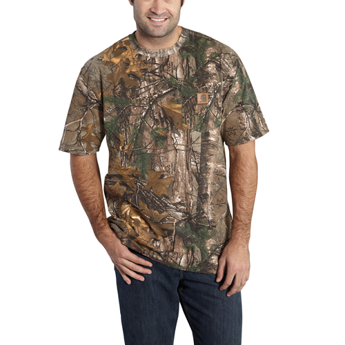 Carhartt Camo Short-Sleeve T-Shirt
