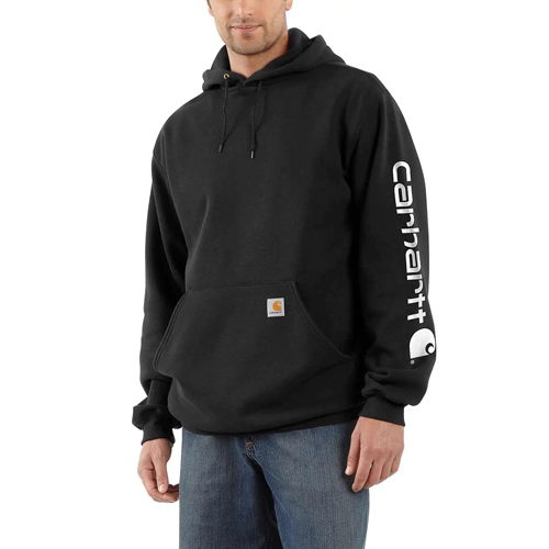 Midweight Hooded Logo Sweatshirt