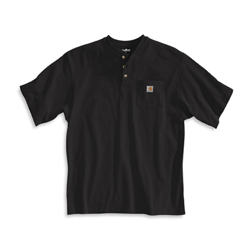 Carhartt Henley Workwear Short Sleeve T-Shirt