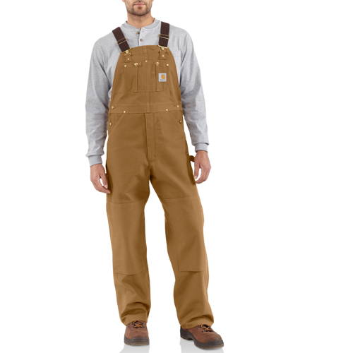 Carhartt Duck Unlined Overall Bib