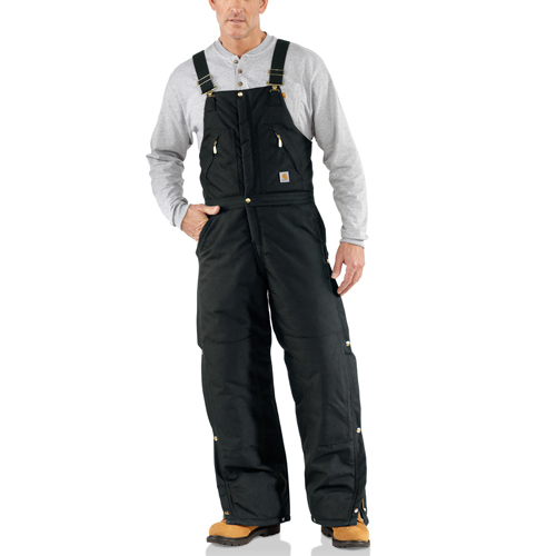 Carhartt Extremes Zip To Waist Arctic Quilt-Lined Bib Overalls