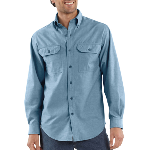 Carhartt Long-Sleeve Chambray Shirt