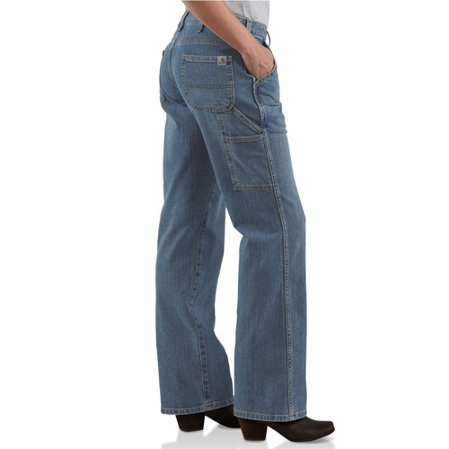 Carhartt Womens Relaxed Fit Single Knee Carpenter Jeans