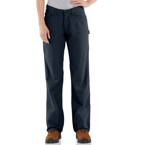 Carhartt Flame-Resistant Loose Fit Midweight Canvas Women's Jeans