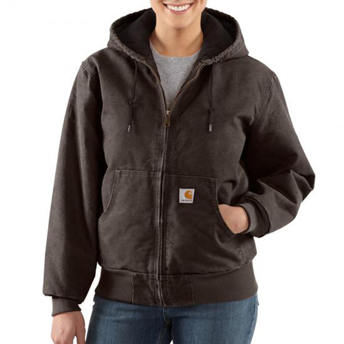 Sandstone Active Quilted Flannel Women's Jacket