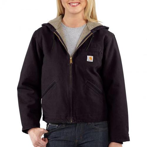 Carhartt Sandstone Sierra Sherpa-Lined Women's Jacket