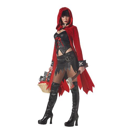 California Costumes Little Red Riding Hood Glam Hatchet