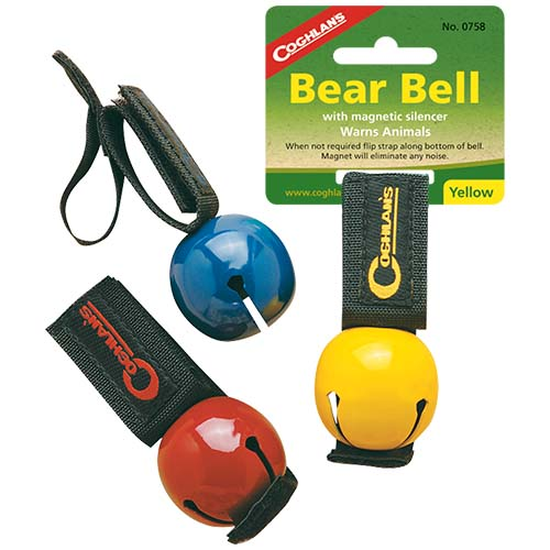 Yellow Magnetic Bear Bell