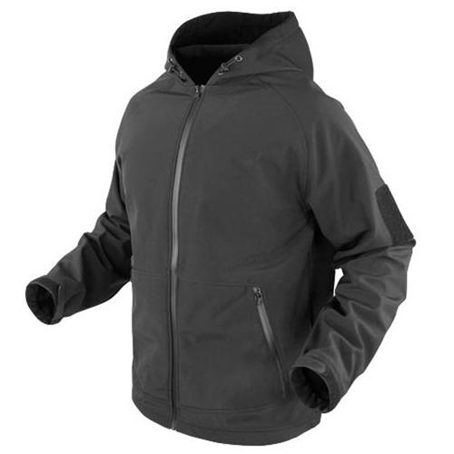Fleece Water Resistant Hoodie Jacket