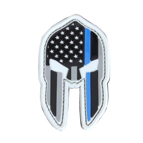 Condor PVC Spartan Helmet Patches - Thin Blue Line