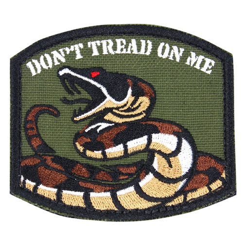 Embroidered DTOM Patch