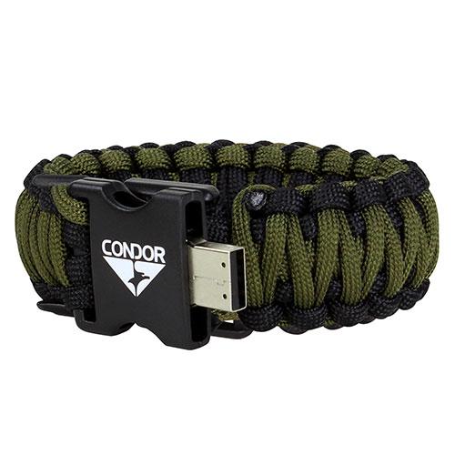 USB Paracord Bracelet