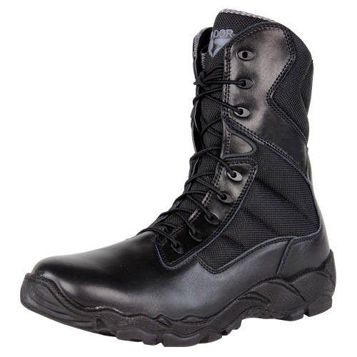 8 Inch Leather Tactical Boots