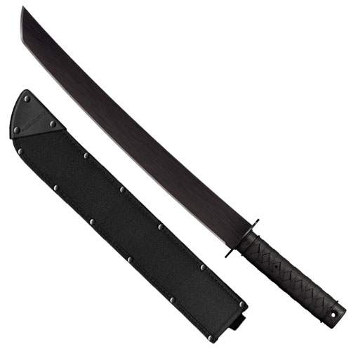 Cold Steel Tactical Wakizashi Machete Fixed Blade