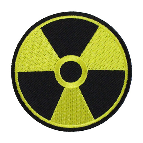 Radioactive Patch - 3 Inch