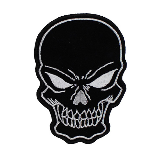 Black Skull Patch Small