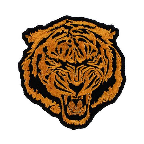 Small Orange Baron Tiger Patch