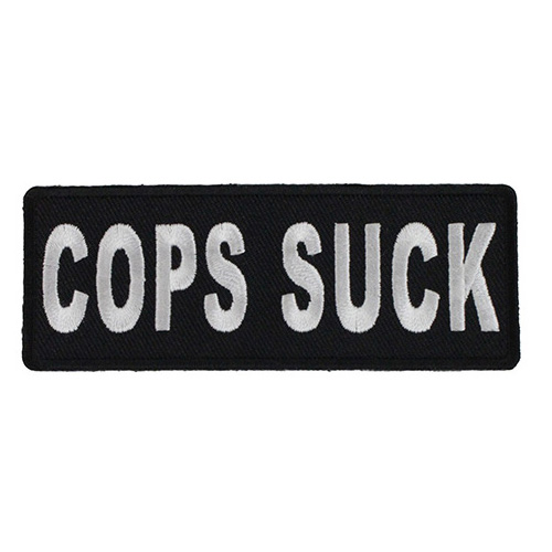 Cops Suck Patch