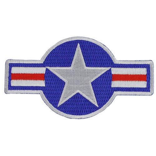 RWB Star Iron On Patch