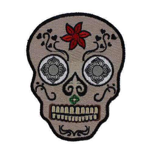 Sugar Skull Patch - 3x3.8 Inch