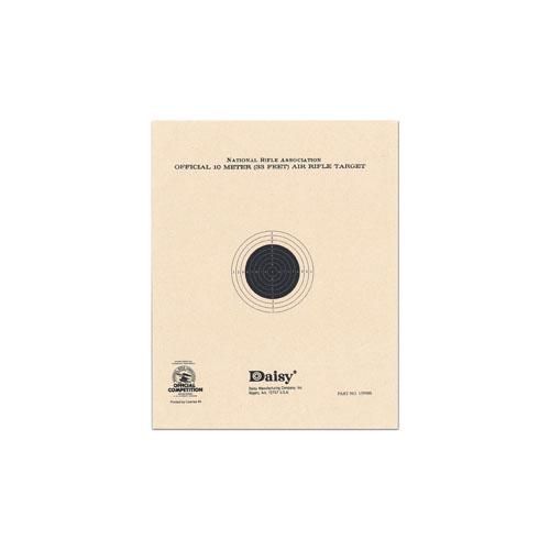 Official NRA 10-Meter Pellet Target