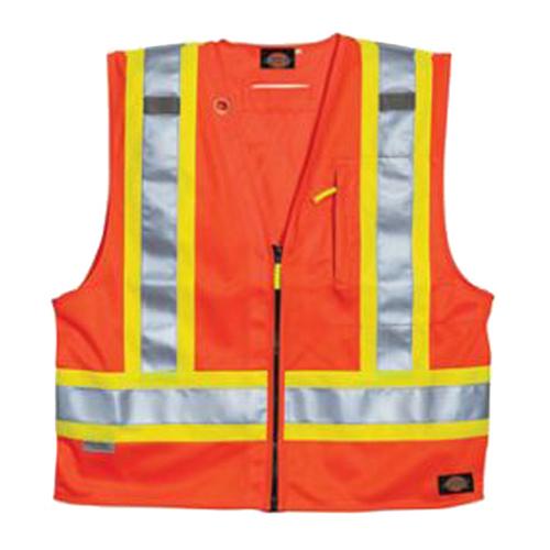 Hi-Vis Orange Foreman's Vest