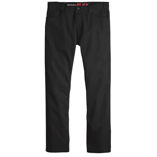 5-Pocket Duck Work Pants Stone Washed Black