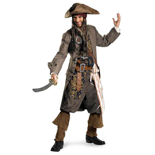 Captain Jack Sparrow Theatrical Adult